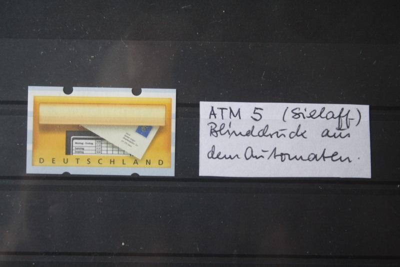 Sielaff ATM ; ATM 5; Blinddruck aus Automaten