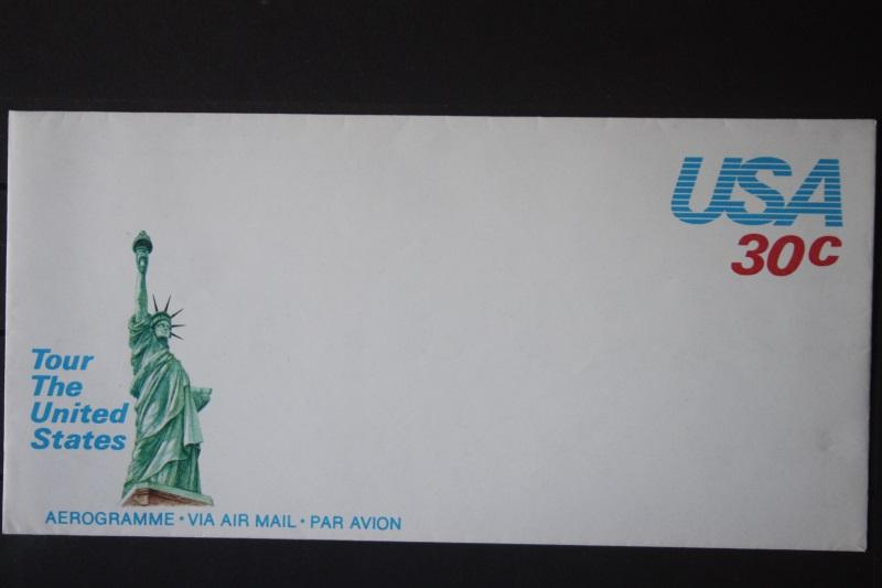 USA Ganzsache Ganzsachenumschlag, Aerogramme, Tour The United States, 30 Cent