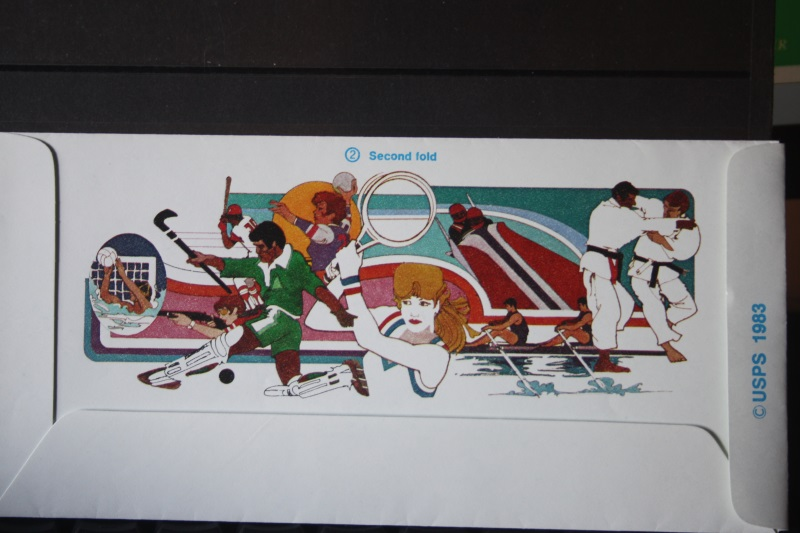 USA Ganzsache Ganzsachenumschlag, Aerogramme, Olympics 84, 30 Cent 1