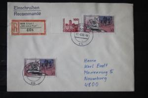 R-Brief 500 Jahre Post Erfurt