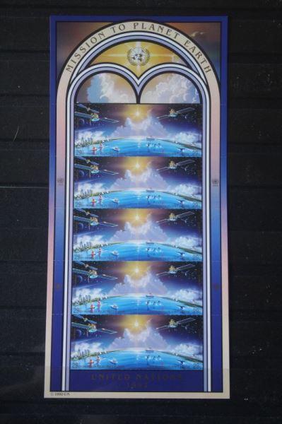 UNO New York, Kleinbogen Mission to Earth 1992; Weltraum, Raumfahrt