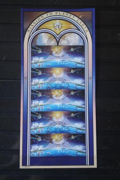 UNO New York, Kleinbogen Mission to Earth 1992, Weltraum, Raumfahrt