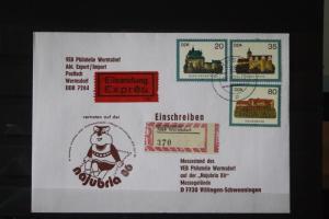 DDR Ausstellungsbrief Najubria 1986