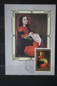 UdSSR; Gemälde 1985; Set von 5 amtl. MK