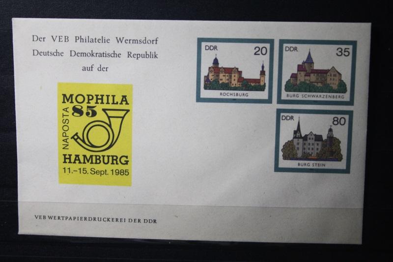DDR Ganzsache Mophila 85 Hamburg