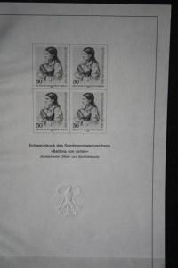 Schwarzdruck der Ausgabe Berlin Bettina von Arnim 1985