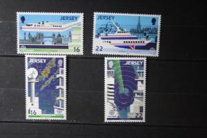 Jersey , CEPT 1988 Schiffe, Flugzeuge, Transport, Kommunikation