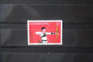 Luxemburg, Sport 1972, 3. Europameisterschaft Bogenschießen