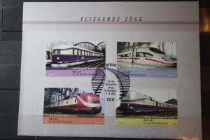 Bundesrepublik, Wohlfahrt 2006,  Eisenbahn, Züge, Fliegende Züge