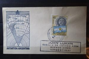 FDC der Antarktis-Expedition, Argentinien, 1957/58; Internationales Geophysikalisches Jahr