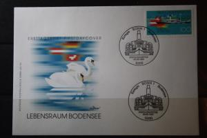 Ersttagsbrief Deutschland  EUREGIO Bodensee