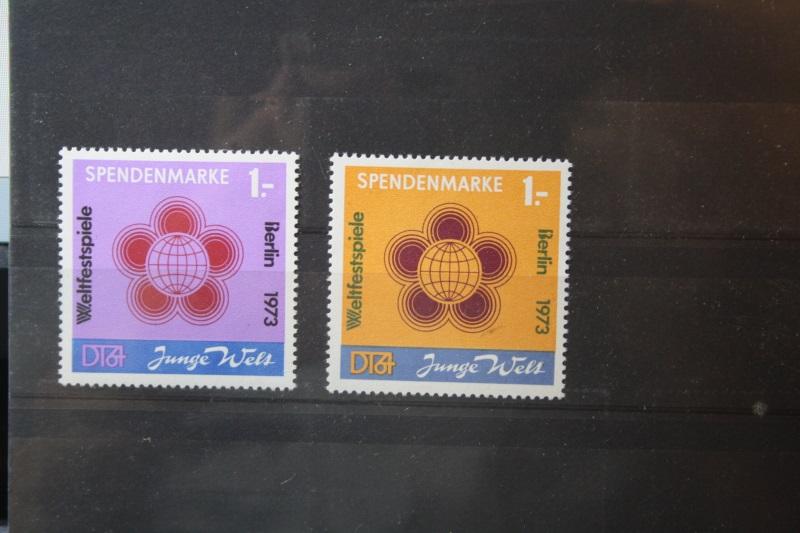DDR Spendenmarken Weltfestspiele 1973, Junge Welt
