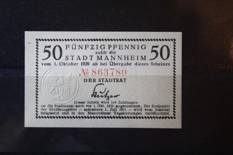 Notgeld Mannheim, 50 Pf.