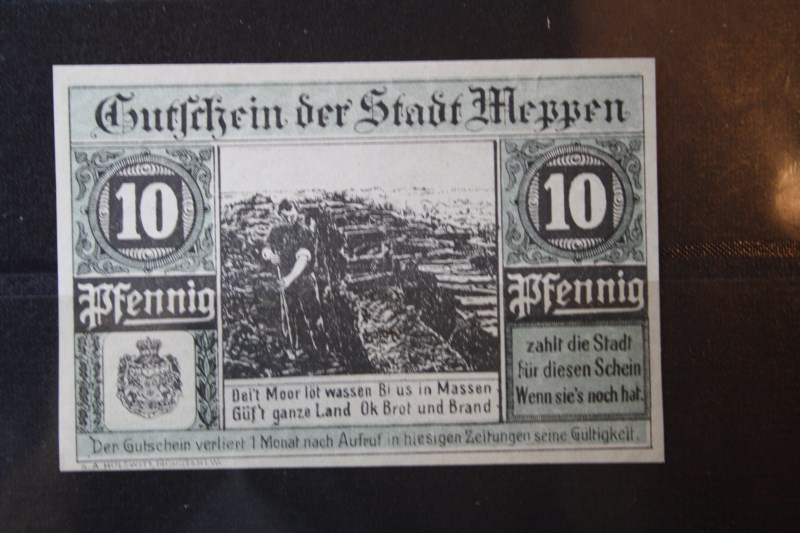 Notgeld Meppen, 10 Pf.