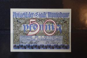 Notgeld Montabaur, 50 Pf.
