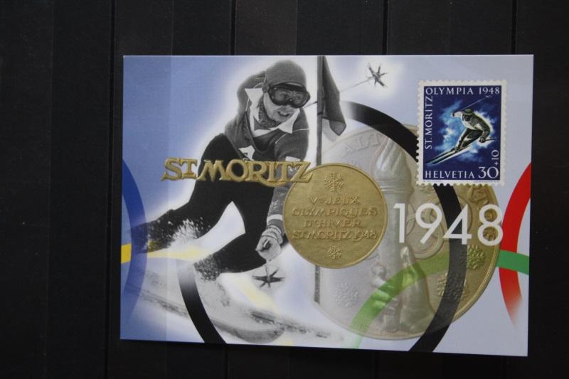 Schweiz, Ganzsache Olympische Winterspiele Nagano 1998
