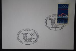 Stempelkarte XX. Olympische Spiele München