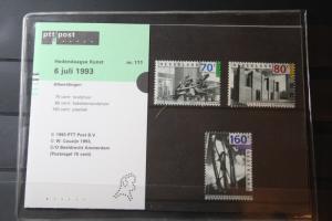 Niederlande, CEPT EUROPA-UNION 1993, Sammelkarte