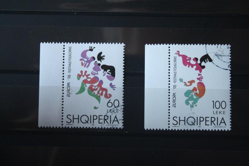 CEPT EUROPA-UNION 1998 Albanien