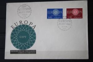 Portugal  CEPT EUROPA-UNION 1960 FDC