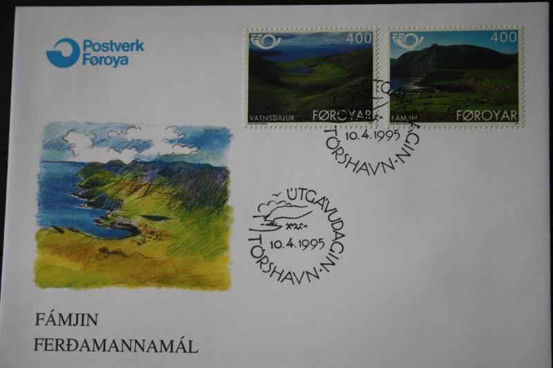 Dänemark-Färöer 1995  NORDEN  FDC