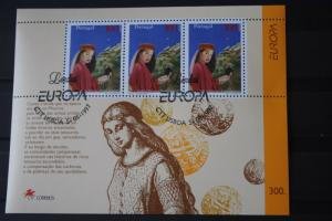 Portugal  CEPT EUROPA-UNION 1997, Block 124