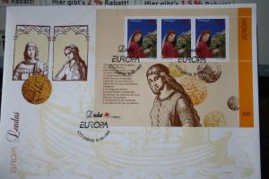 Portugal  CEPT EUROPA-UNION 1997, Block 124 auf FDC