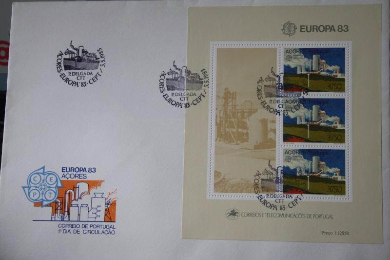 Portugal-Azoren CEPT EUROPA-UNION 1983, Block 124