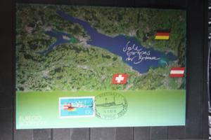 Karte der Deutsche Post zur EUREGIO Bodensee