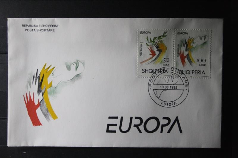 Albanien  CEPT EUROPA-UNION 1995 FDC