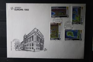 Großbritannien- Jersey  CEPT EUROPA-UNION 1982 FDC