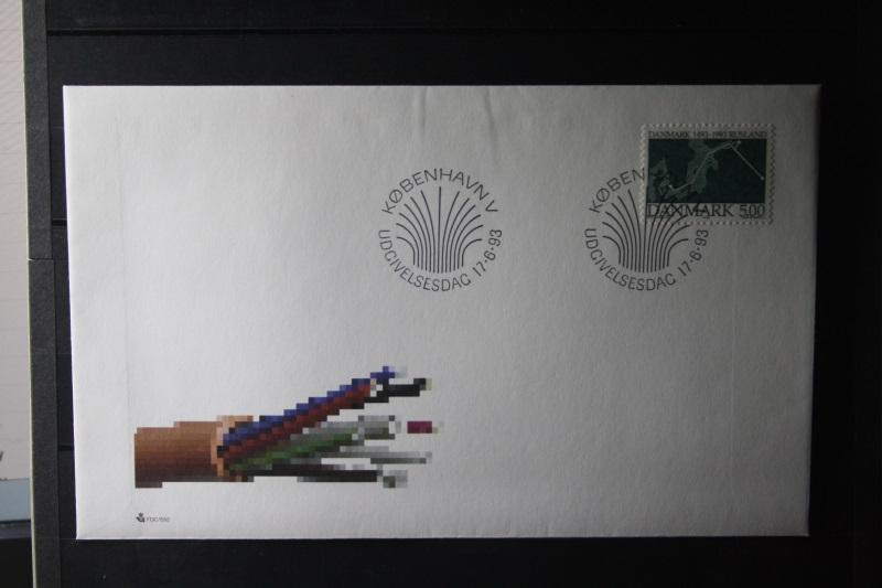 Dänemark, Dänemark-Rusland 1993 FDC