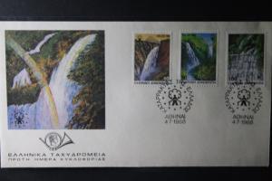 Griechenland Europ. Kampagne Ländlicher Raum, CEPT EUROPA-UNION - Symphatieausgabe 1988 FDC