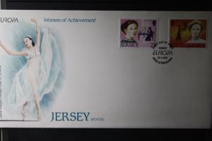 Großbritannien- Jersey  CEPT EUROPA-UNION 1996 FDC