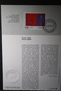 Frankreich CEPT EUROPA-UNION 1993 ETB