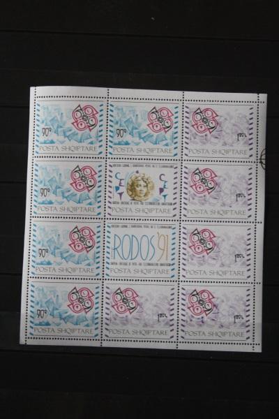 Albanien, CEPT EUROPA-UNION Kleinbogen 1991