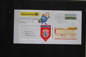 ATM BRD 1510 Pf., IBRA Nürnberg 1999 mit Einlieferungsschein
