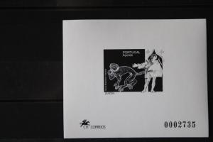 CEPT EUROPA-UNION 1994 Portugal Azoren; Schwarzdruck der Mi.-Nr. 446