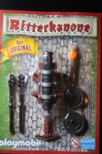 Ritterkanone; Original Ritterkanone, von Playmobil; neu in OVP (Blister); Limitierte Auflage