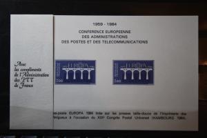 CEPT EUROPA-UNION Frankreich 1984, Epreuve