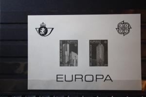 CEPT EUROPA-UNION Belgien 1987, Schwarzdruck