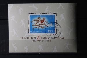 Europäische Leichtathletik-Meisterschaften 1966; Block; Flugpost-Ausgabe