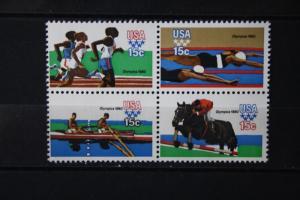 USA, Viererblock  Sport 1980, Olympische Spiele