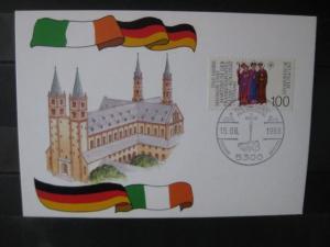 Frankenapostel, Amtliche MK Irland mit deutscher Marke, 1989