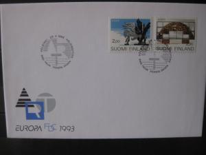Finnland, CEPT EUROPA-UNION 1993, FDC
