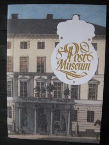 Schweden CEPT EUROPA-UNION 1990, Folder des Postmuseum mit Schwarzdruck SPECIMEN