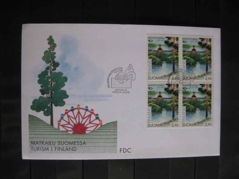 Finnland, NORDEN 1995, FDC