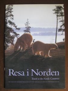 Skandinavien Gemeinschaftsausgabe NORDEN 1991; Reise in den Norden; Resa i Norden