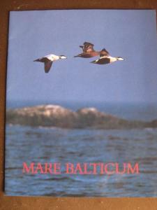 Gemeinschaftsausgabe Mare Balticum von 1992: Litauen, Lettland, Estland, Schweden mit Schwarzdruck