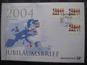 Jubiläumsbrief Deutsche Post: Erweiterung der Europäischen Union, 2004